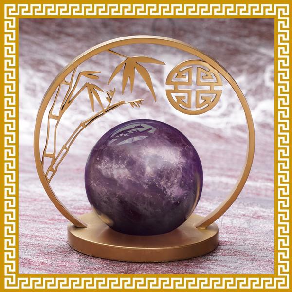 紫之光・事業許願球