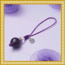 七色彩玄‧紫晶掛飾